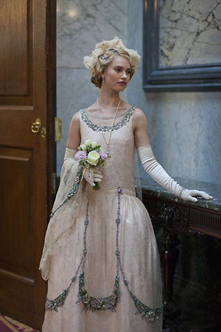 Bandeaux In The Great Gatsby And Downton Abbey