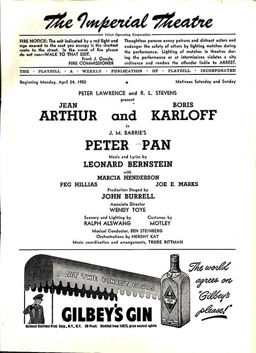 Peter Pan (1950 musical)
