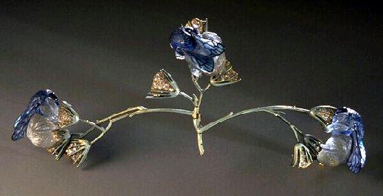 beesandflowerscorsageornament