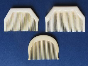 2016 - Sikh Khanga combs in ivory [for BS]