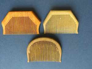 2016 - Sikh Khanga combs in wood [for BS] 1