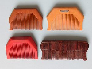2016 - Sikh Khanga combs in wood [for BS] 2