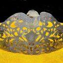 Ottoman Sultan V. Murad's daughter Hatice Sultan's silver crown